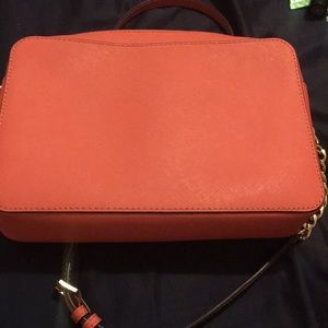 Michael Kors Bags - Beautiful pink patch purse